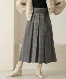 KBF/mixパターンデザインスカート/501291108