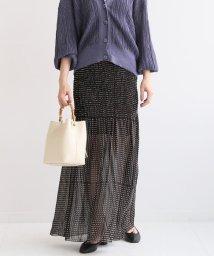 NOBLE/【JANE SMITH】 ゴムシャーリングスカート/501291184