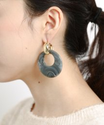 URBAN RESEARCH Sonny Label/2WAYアクリルフープピアス/501291690