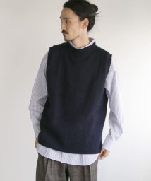 URBAN RESEARCH/Harley of scotland×UR SHAGGY KNIT CREW VEST/501291765