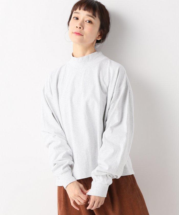 ジャーナルスタンダードハイネック長袖TシャツレディースグレーL【JOURNAL STANDARD】