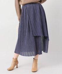 NOBLE/【JANE SMITH】ランダムプリーツアシンメトリースカート/501291880