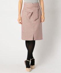 MISCH MASCH/前サッシュリボンタイトスカート/501107615