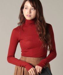 beautiful people/wool rib hight neck pullover logoprint/501176615