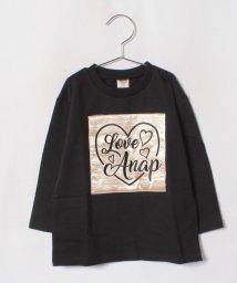 ANAP KIDS/刺繍ロゴワッペンチュニック   トップス/501273736