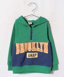 ANAP KIDS/BROOKLYNハーフジップ    フーディー/501278862