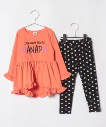 ANAP KIDS/フリルチュニック+レギンスセット/501278863