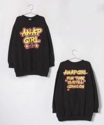 ANAP GiRL/グラフティロゴプルオーバー/501283547