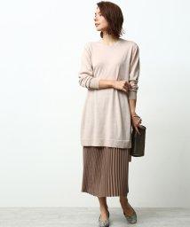 ROPE' mademoiselle/【プリーツペチスカート付き】ニットワンピース/501286032