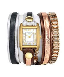 LA MER COLLECTIONS/LA MER COLLECTIONS SWAROVSKI CRYSTAL WATCHES 腕時計 LMBGT001-BRONZE レディース/501288172