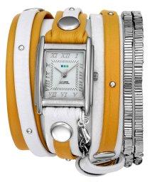 LA MER COLLECTIONS/LA MER COLLECTIONS 腕時計 LMDEL1006YELSIL-MIX レディース/501288173
