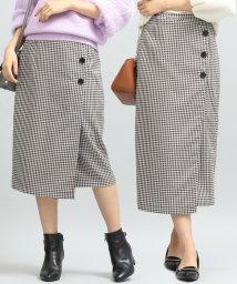 ViS/【TVドラマ着用】【着丈が選べる美人丈】ラップライクタイトスカート/501291798