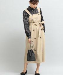 ViS/トレンチジャンパースカート/501291800