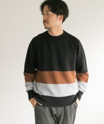 URBAN RESEARCH/Color block knit/501293385