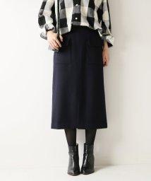 Spick & Span/Wポケットビーバータイトスカート◆/501293477