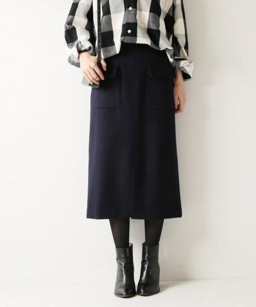 Spick & Span(スピック&スパン)/Wポケットビーバータイトスカート◆/18060200594040