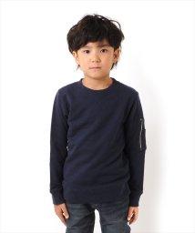 GLAZOS/袖ポケットデザイントレーナー[2色展開]/501293558