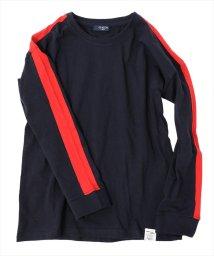 GLAZOS/ドロップショルダー袖ライン長袖Tシャツ[2色展開]/501293560