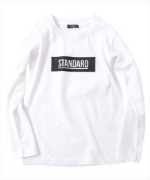 GLAZOS/ボックスロゴ厚手長袖Tシャツ[2色展開]/501293564