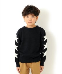 GLAZOS/ミドルゲージ・スターデザインセーター[2色展開]/501293584