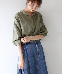 Spick & Span/テンセルナイロンワイドシャツ/501293839
