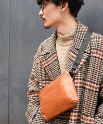 DEVICE/TransitGate G2 本革サコッシュバッグ/501294078