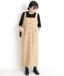 SLOBE IENA/フロントボタンジャンパースカート◆/501294481