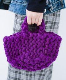 haco!/Cachellie もこもこ手編みトート/501290709