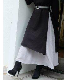 RESEXXY/【WEB限定】ドットデザインロングスカート/501292652