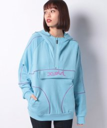 X-girl/SWEAT ANORAK/501164397