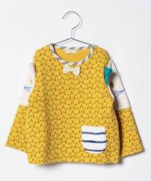 babycheer/星キルト袖ねこトレーナー/501277601