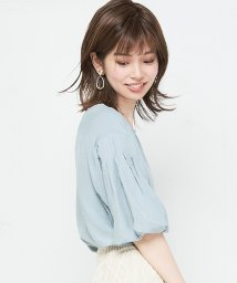 NICE CLAUP OUTLET/【natural couture】バルーン袖とろみブラウス/501284666