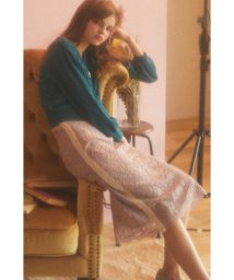 PROPORTION BODY DRESSING/《EDIT COLOGNE》ラインレーススカート/501295146