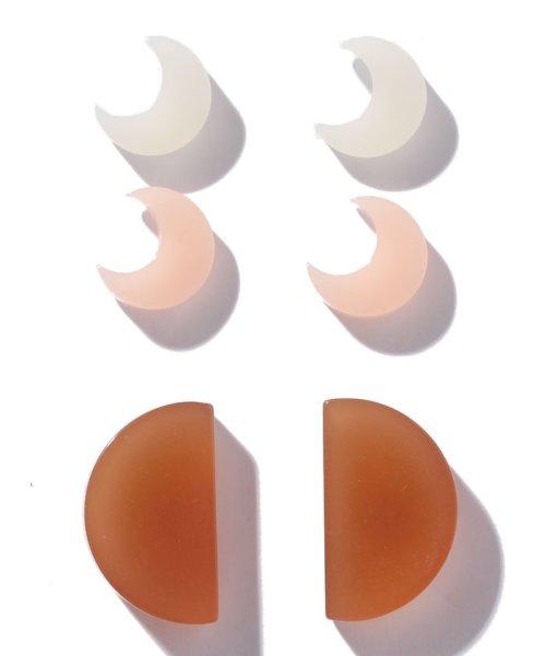 WYTHECHARM(ワイスチャーム)/ピアスセット ムーン2&半円/18302015