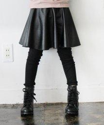 Rora/Rora ブラックスカートパンツ/501261605