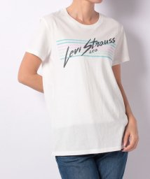 LEVI'S LADY/PERFECT GRAPHIC TEE STRIPES CLOUD DANCER/501271050
