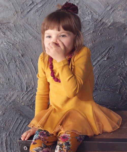 Rora(ローラ)/Rora アート チュニックワンピース(ネックレスセット)(2color)/10002985