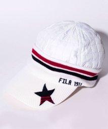 FILA GOLF/キャップ/501284646