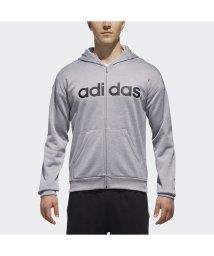 adidas/アディダス/メンズ/M SPORTS ID リニアロゴスウェットフルジップパーカー (裏起毛)/501296722