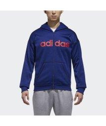 adidas/アディダス/メンズ/M SPORTS ID リニアロゴスウェットフルジップパーカー (裏起毛)/501296723