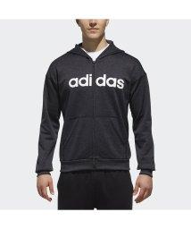 adidas/アディダス/メンズ/M SPORTS ID リニアロゴスウェットフルジップパーカー (裏起毛)/501296724