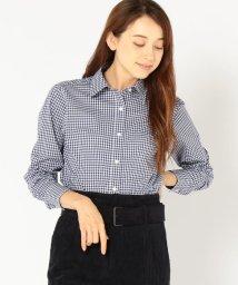 SHIPS WOMEN/PrimaryNavyLabel:チェックシャツ/501297303
