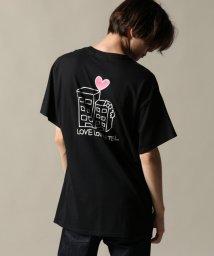 JOURNAL STANDARD/KEN KAGAMI×SHIBUYA/カガミケン:LOVE LOVE HOTEL Tシャツ/501297695