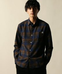 JOURNAL STANDARD relume Men's/湘南ベルマーレ×relume インディゴチェックシャツ/501297739