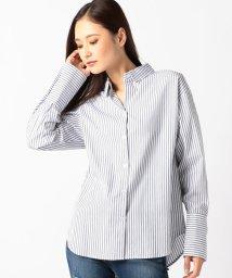 UNRELISH/【steady.・mina11月号掲載】ダブルタック折り返しシャツ/501180284