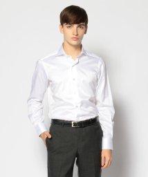TOMORROWLAND MENS/120/2コットンヘリンボーン ワイドカラー ドレスシャツ NEW WIDE-5/501298014