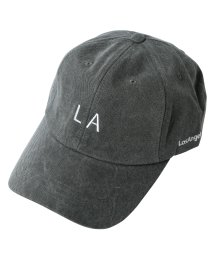 JIGGYS SHOP/LAロゴコットンキャップ / キャップ メンズ 帽子 CAP/501299105