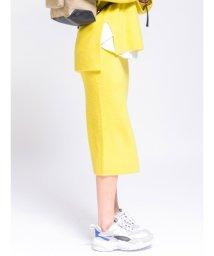 emmi atelier/【emmi atelier】Iラインニットスカート/501299528