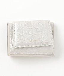 ViS/スカラップライン三つ折りミニ財布/501146186