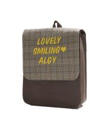 ALGY/チェックロゴリュック/501217149